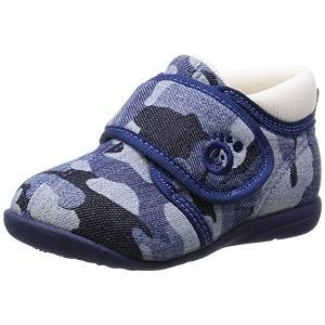 ASAHI アサヒ アサヒ健康くん B01-JP ネイビーガラ 日本製 アサヒシューズ ベビー  子供靴 okamotoya