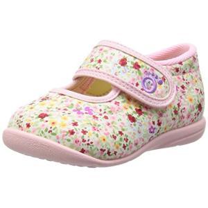 ASAHI アサヒ アサヒ健康くん B02-JP ピンクプリント 日本製 アサヒシューズ ベビー  子供靴 okamotoya