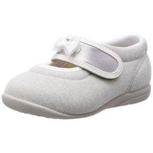 ASAHI アサヒ アサヒ健康くん B03-JP シルバー 日本製 アサヒシューズ キュートなリボン付き ベビー  子供靴 okamotoya