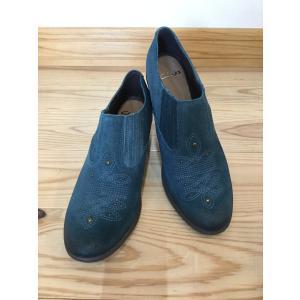 clarks クラークス 309f ブルー  店頭展示品  訳ありアウトレット  ショート丈ブーツ レディース 靴 okamotoya