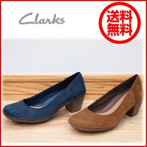 Clarks 301F 店頭展示品  訳ありアウトレット ブラウン クラークス パンプス レディース 靴|okamotoya