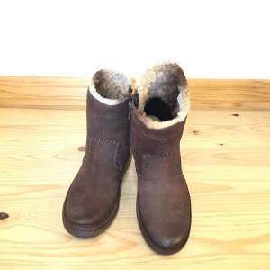 Clarks クラークス 541f ダークブラウン  店頭展示品  訳ありアウトレット ブーツ レディース 靴 okamotoya