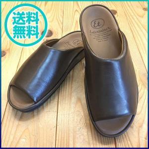 弘進ゴム Entertainer エンターテイナー et6301 ダークブラウン サンダル メンズ 靴|okamotoya
