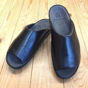 弘進ゴム Entertainer エンターテイナー et6302(女性用) 黒 ブラック サンダル レディース 靴|okamotoya