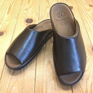 弘進ゴム Entertainer エンターテイナー et6302(女性用) ダークブラウン サンダル レディース 靴|okamotoya