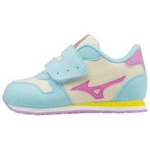お取り寄せ商品 MIZUNO ミズノ タイニーランナー5 ミントミックス キッズ  子供靴 okamotoya