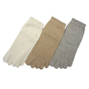 Natural Style ns8180l 綿100% 「重ね履き用 インナーソックス」 レディースサイズ オーガニックコットン 日本製  ソックス okamotoya