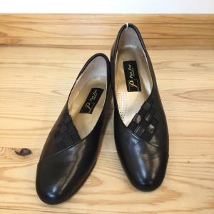 Put's プッツ 3308 黒 ブラック  店頭展示品  訳ありアウトレット  パンプス レディース 靴|okamotoya