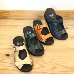 店頭展示品在庫処分 Put's プッツ 4075 サンダル     レディース 靴 okamotoya
