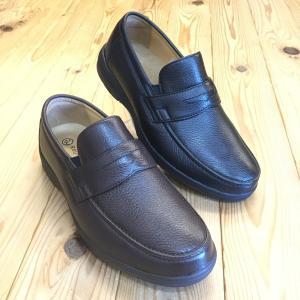リーガル REGAL リーガルウォーカー 274w 274wbf ブラック・ダークブラウン ディアスキン採用のローファー メンズ ビジネスシューズ 靴|okamotoya