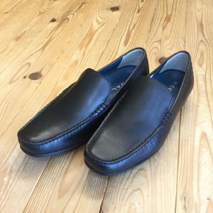 REGAL リーガル 56hr 56hraf スリッポン ブラック ロングノーズラストのヴァンプ メンズ 靴|okamotoya