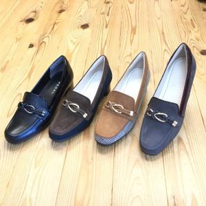 店頭展示品在庫処分 REGAL f64k リーガル レディース ヒールローファー 靴|okamotoya