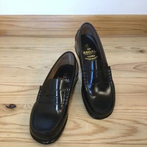 REGAL リーガル FH11 FH11AB 黒 ブラック ローファー 爪先を丸くしたラウンドトゥ レディース 靴|okamotoya