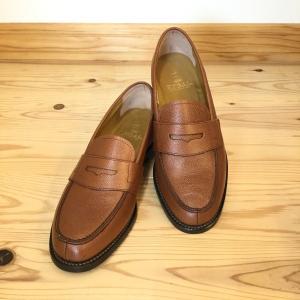 REGAL リーガル JJ16AL スコッチダークブラウン 型押し加工のローファー メンズ ビジネスシューズ 靴 ビジネスマン就活学生にオススメ|okamotoya