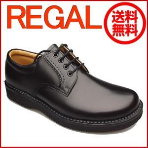REGAL リーガル リーガルウォーカー JJ23 JJ23AG プレーントゥ ブラック メンズ ビジネスシューズ 靴 足元からの清潔感アップ|okamotoya