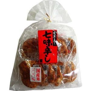 日清製菓 暖簾の香り 七味辛し9枚×6袋