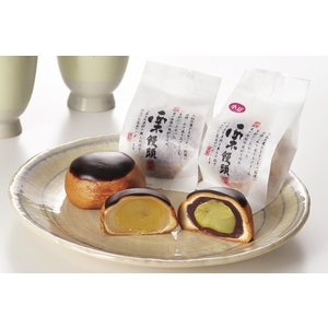 栗饅頭(白餡)|okashi-kikuya