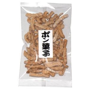 大東農産加工場 ポン菓子(マカロニ) 40g 10コ入り (1000220)|okashinomarch