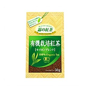 UCC業務用 霧の紅茶 有機栽培紅茶 セイロンブレンド 50g×24個|okashinomarch