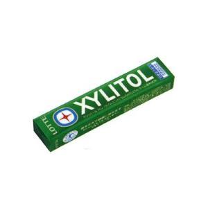 ロッテ キシリトールガム(ライムミント) 14粒×20コ入り 特定保健用食品|okashinomarch