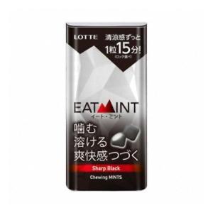 ロッテ EATMINT<シャープブラックミント> 18g 108コ入り 2019/10/01発売 (...