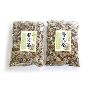 (全国送料無料) 森田製菓 贅沢茶 250g 2コ入り メール便 (4529552002998x2m) okashinomarch