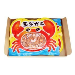 (単品) 森田製菓 玉子ガニ 80g|okashinomarch
