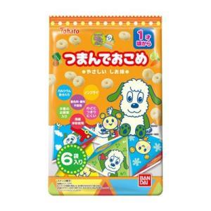 東ハト バンダイ NHKいないいないばあっ!つまんでおこめ やさしいしお味 24g(4g×6袋) 12コ入り 2019/03/04発売|okashinomarch