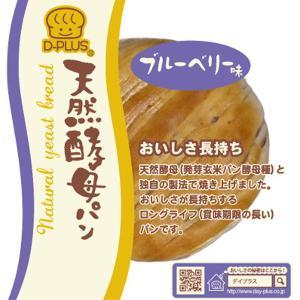 デイプラス 天然酵母パン ブルベリー 12コ (4571170199734)|okashinomarch