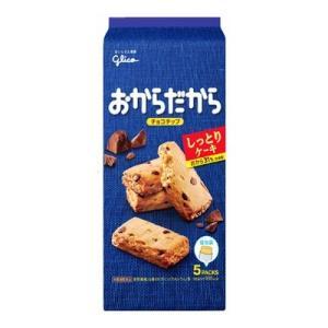 グリコ おからだから チョコチップ 5枚 6コ入り okashinomarch