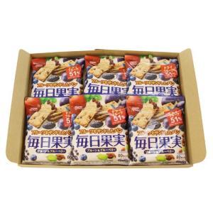 (全国送料無料)グリコ 毎日果実 プルーン&ブルーベリー 6枚(3枚×2袋入) 6コ入り メール便 (4901005184428x6m) okashinomarch