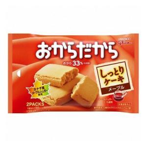 (お買い得)グリコ おからだから<メープル> 2枚(1枚×2袋) 80コ入り|okashinomarch