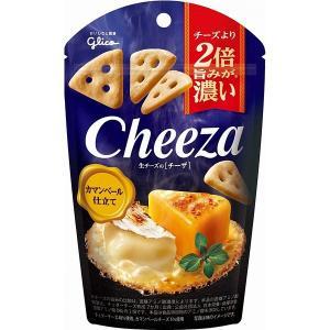 グリコ 生チーズのチーザ カマンベールチーズ仕立て 40g 10コ入り (4901005184961...