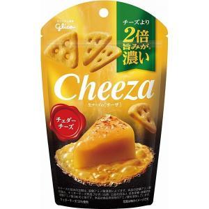 グリコ 生チーズのチーザ チェダーチーズ 40g 10コ入り (4901005184978)