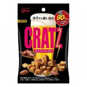(お買い得)グリコ クラッツ ペッパーベーコン  42g 120コ入り|okashinomarch