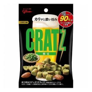 (お買い得)グリコ えだまめクラッツ うましお 42g 10コ入り|okashinomarch