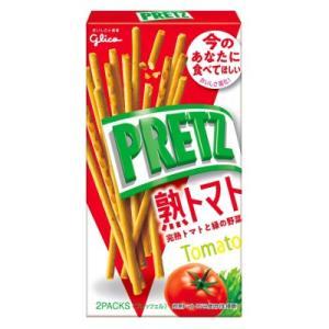 グリコ プリッツ 熟トマト  60g 10コ入り 2019/07/30発売|okashinomarch