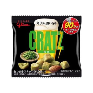 グリコ クラッツミニタイプ〈枝豆〉 14g 20コ入り 2019/08/06発売|okashinomarch
