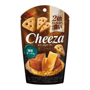 グリコ 生チーズのチーザ〈燻製チーズ味〉 40g 10コ入り 2019/08/27発売|okashinomarch