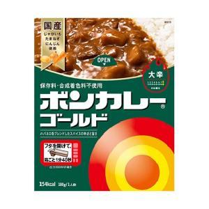 (全国送料無料) 大塚食品 ボンカレーゴールド 大辛 180g 2コ入り メール便 okashinomarch