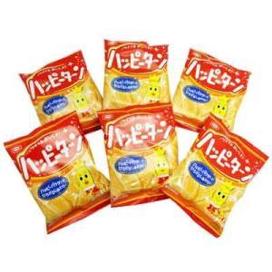 (全国送料無料)亀田製菓 ハッピーターンミニ 32g 小袋食べきりサイズ 6コ入 メール便 okashinomarch