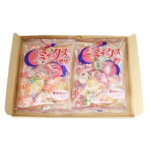 (全国送料無料) 金城製菓 ミックスゼリー 230g 2コ入り メール便|okashinomarch