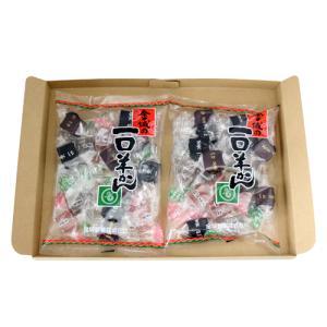 (全国送料無料) 金城製菓 一口羊かん 210g 2コ入り メール便|okashinomarch