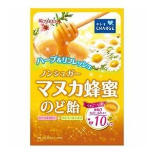 春日井 ノンシュガーマヌカ蜂蜜のど飴 70g 6コ入り 2018/12/03発売|okashinomarch