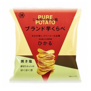 コイケヤ じゃがいも心地 ブランド芋くらべ 焼き塩(ひかる) 53g 12コ入り 2020/10/12発売 (4901335144093)|okashinomarch