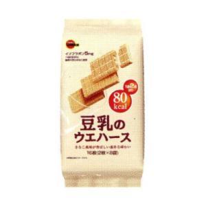 ブルボン 豆乳のウエハース 16枚 6個入り (4901360285587)