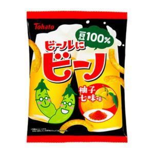 東ハト ビールにビーノ 柚子七味味 62g 12コ入り 2019/07/15発売 okashinomarch