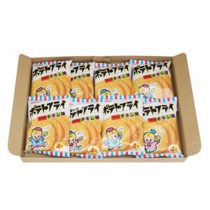 (全国送料無料) 東豊製菓 ポテトフライ(フライドチキン) 11g 8コ入り メール便 (4901984088267x8m)|okashinomarch