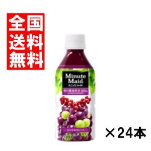 (全国送料無料)コカコーラ ミニッツメイドカシス&グレープ 350ml 24本×1ケース|okashinomarch