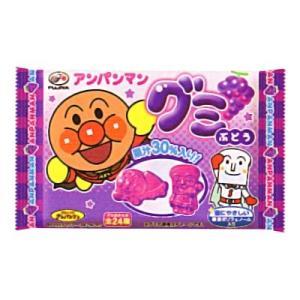 不二家 アンパンマングミ(ぶどう) 6粒 20コ入り 2014/07/08発売|okashinomarch